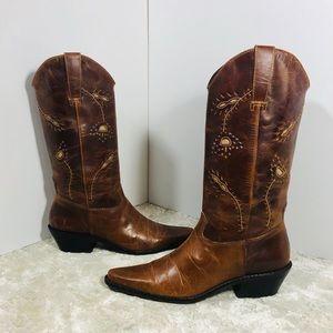 Matisse Albuquerque Prairie Floral Leather Boots